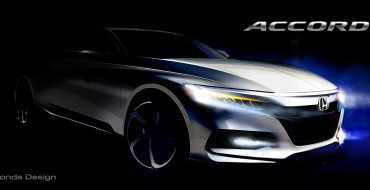 Honda Teases Tenth-Generation Honda Accord, Sets July 14th Date for Debut