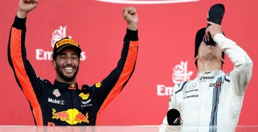 Daniel Ricciardo Wins Utterly Chaotic and Amazing Azerbaijan Grand Prix