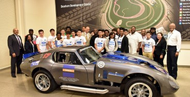 Detroit High Schoolers Build a 1965 Ford Daytona Coupe From Scratch