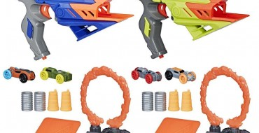 NERF Blasters Get New Ammunition and It's Four-Wheels of Fun