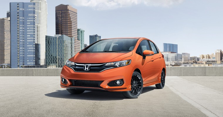 2018 Honda Fit Goes On Sale Today With New Sport Trim
