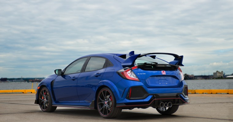 Honda Civic Type R Set for Record Run around European Circuits