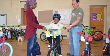 "Third Annual FCA ""Big Bike and Book Giveaway"" Delivers New Bikes to 150 Detroit Students"