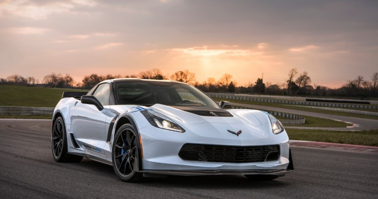 Mexico to Receive 10 2018 Chevrolet Corvette Carbon 65 Editions Later This Year
