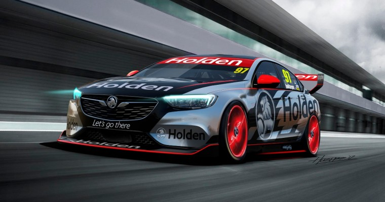 Holden Previews Next-Gen Commodore Race Car Ahead of 2018 Supercars Debut