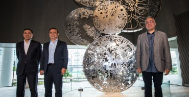 Nissan Adds New Art To Headquarters
