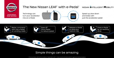 You Can Drive The New Nissan Leaf With One Pedal