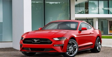 2018 Ford Mustang EcoBoost Gets Shiny With Pony Package