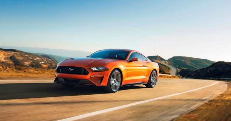 2018 Ford Mustang GT Can Go 0-60 MPH in Under Four Seconds with Drag Strip Mode