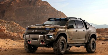 Eco-Friendly Meets Off-Road: GM and the U.S. Army Re-Imagines the Chevrolet Colorado
