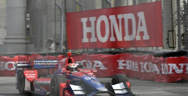 Honda Drivers Rossi and Hinchcliffe Score Podium Results in Toronto