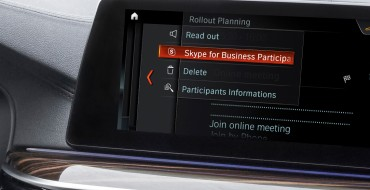BMW and Microsoft Bring Skype to Select BMW Vehicles