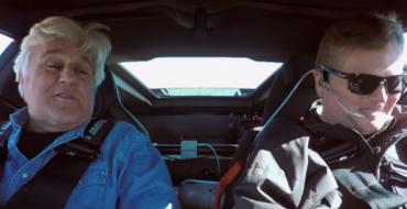 Sam Schmidt Takes Jay Leno for a Whirl in His C7 Corvette Z06