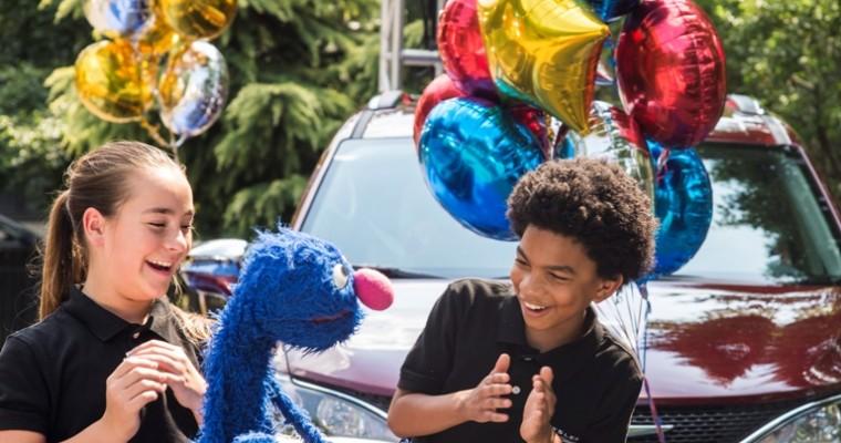 """Chrysler Signs On as an Official Sponsor of """"Sesame Street"""""""