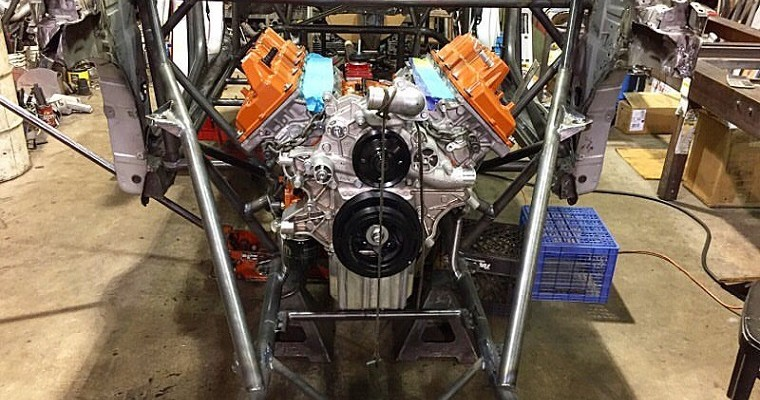 Toyota PriuSRT8 is a Hellcat-Powered Hot Rod