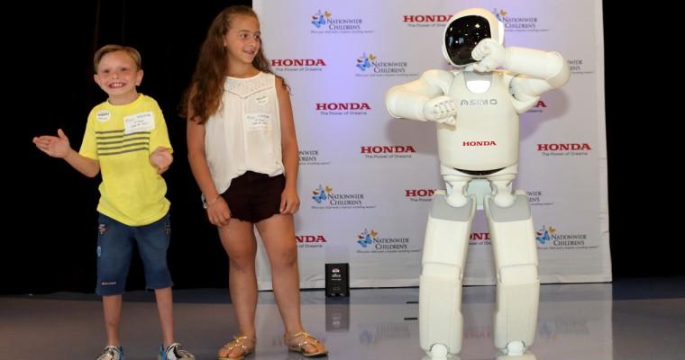 """Like"" This Honda ASIMO Video to Raise Money for Columbus' Nationwide Children's Hospital"