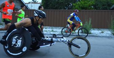 Quadriplegic Athlete Takes On First Half Marathon