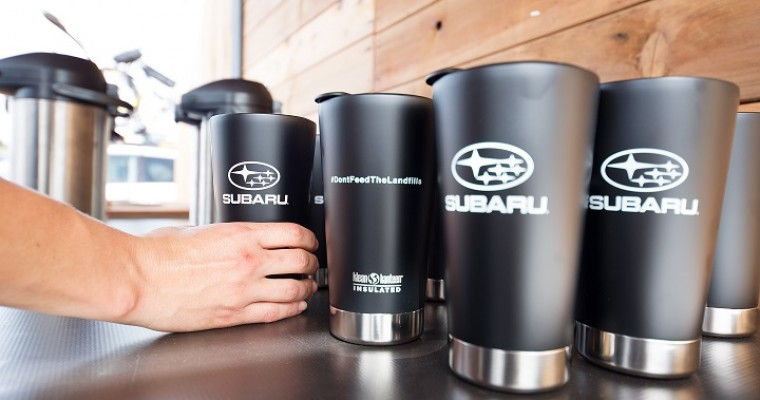 Subaru Partners with Klean Kanteen to Promote Sustainability