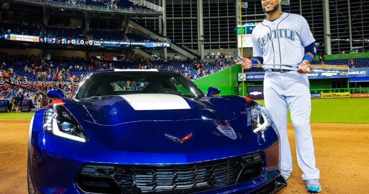 All-Star Game MVP Robinson Cano Chooses Corvette Grand Sport as Reward