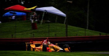 Honda Driver Hunter-Reay Leads Friday Practice at Mid-Ohio