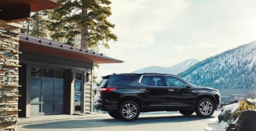 2018 Chevy Traverse Priced at $30,875