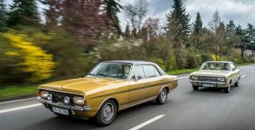 Opel Commodore Celebrating 50th Anniversary at Silvretta Classic