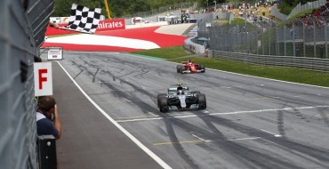 Valtteri Bottas Wins in Austria after Questionable Jump Start