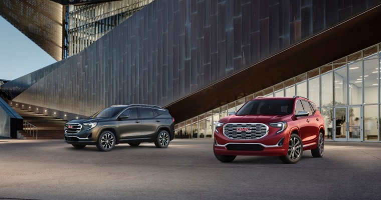 GMC Terrain Celebrates Its Best Sales Month Ever in March as GMC Sales Rise 11.4%