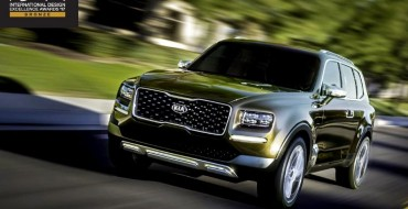 Kia Telluride Takes the Bronze at the 2017 International Design Excellence Awards