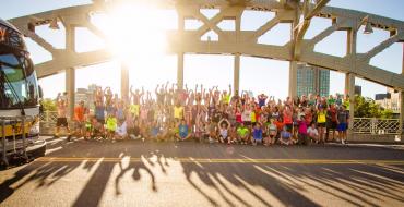 Closed Bridge Becomes Fitness Playground in Boston