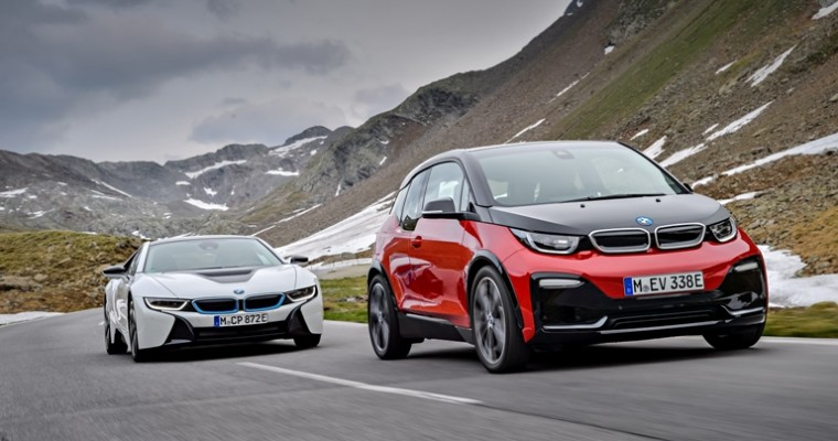 Future for the BMW i3 and i8 Unclear as BMW Introduces New Electric Vehicles