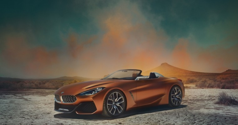 BMW Unveils the BMW Concept Z4 Roadster