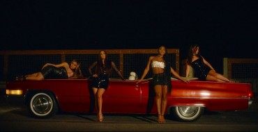 """Fifth Harmony Features Convertible Cadillac DeVille in New """"Angel"""" Music Video"""