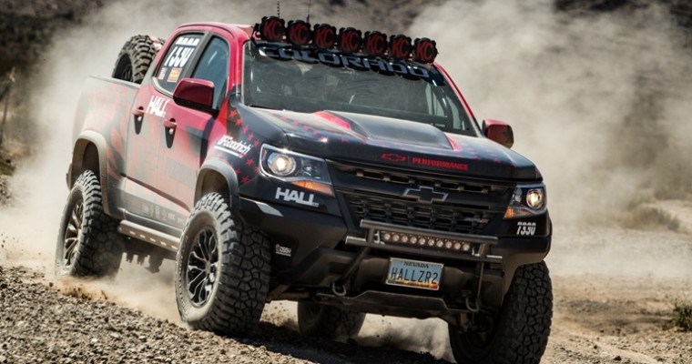 Hall Racing Enters Modified Chevy Colorado ZR2 into the Best in the Desert Racing Series