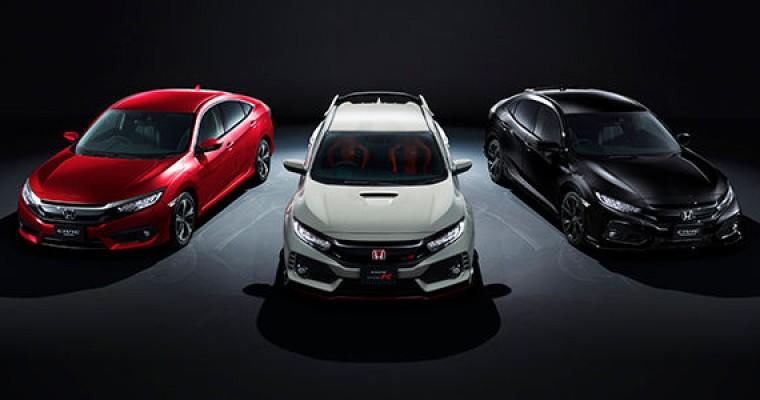 Honda Sets Sept. 29 Street Date for New Civic in Japan