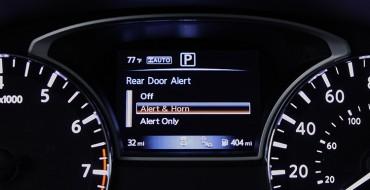 2019 Four-door Nissan Models to Be Equipped with Standard Rear Door Alert Tech