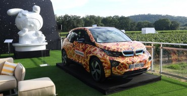"BMW i3 ""Spaghetti Car"" Auctioned Off During Leonardo DiCaprio Foundation Event"