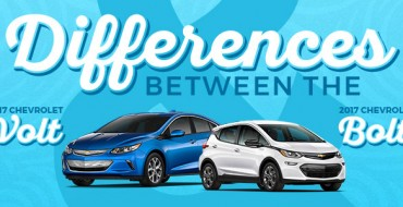 Infographic: Differences Between the 2017 Chevrolet Volt and 2017 Chevrolet Bolt