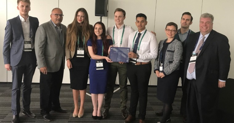 University of Sheffield Team Wins 2017 Ford UK Innovation Challenge
