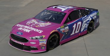 Danica Patrick Piloting No. 10 Ford Warriors in Pink Fusion at Dover on Sunday