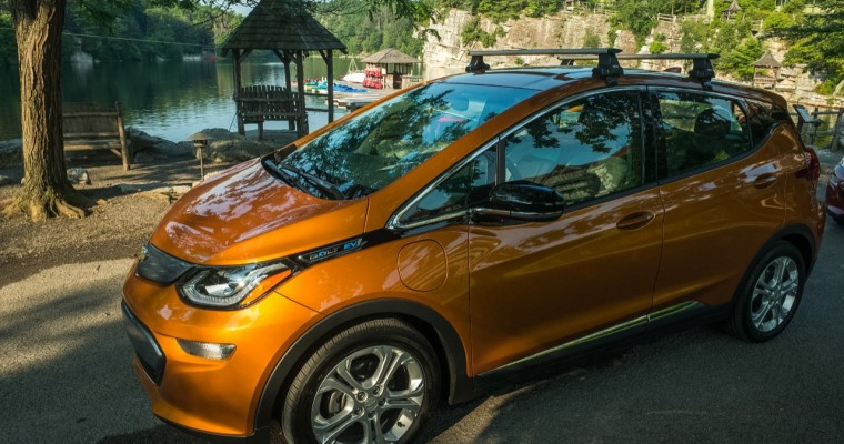 Chevrolet Bolt Named Top Compact Green Car of 2018 by Consumer Reports
