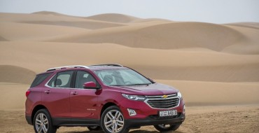 2018 Chevrolet Equinox Premier Arrives in The Middle East