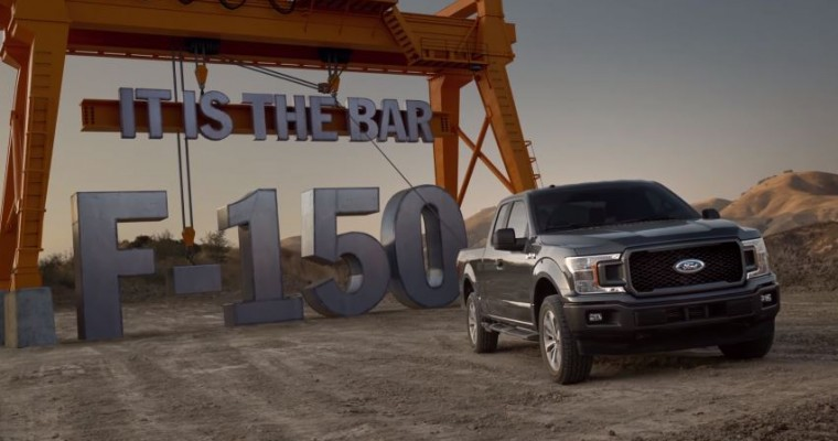 New 2018 Ford F-150 Commercial: It Doesn't Raise the Bar, It is the Bar, and Denis Leary is Your Pal