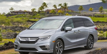 2018 Honda Odyssey Earns Top Safety Scores from NHTSA & IIHS