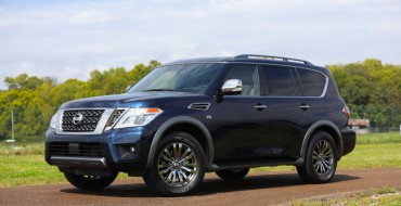 Fair Attendees Witness World Introduction of 2018 Nissan Armada Platinum Reserve