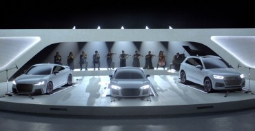 An Orchestra of Audis Plays Homage to Television