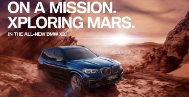 "BMW's ""On a Mission"" Campaign Transports the BMW X3 to Mars"