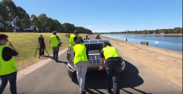 "Solar-Powered Car ""Violet"" to Compete in the 30th Bridgestone World Solar Challenge in Australia"