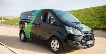 Ford Transit Custom Plug-in Hybrid Makes Debut at UK Trade Show