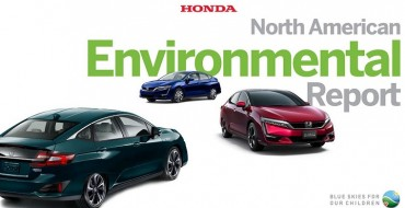Honda Reports Its Environmental Performance and Progress